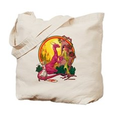 St.George and the Dragon Tote Bag