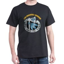 DUI - 2nd Infantry Division with Text T-Shirt