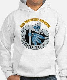 DUI - 2nd Infantry Division with Text Hoodie