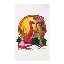 St.George and the Dragon 3'x5' Area Rug