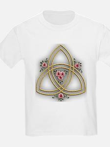 Trinity Cross Design Kids T-Shirt