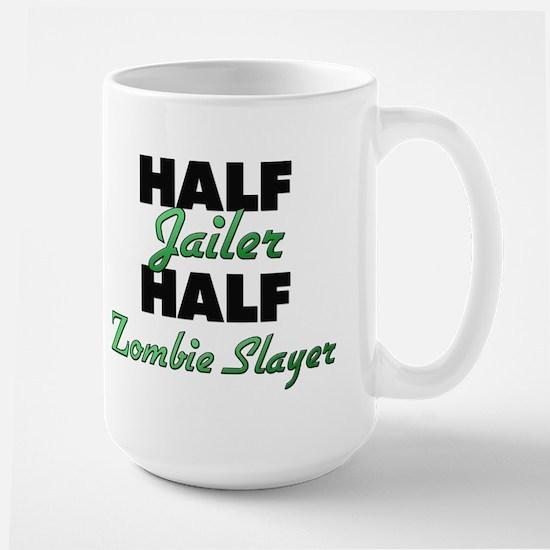 Half Jailer Half Zombie Slayer Mugs