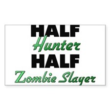 Half Hunter Half Zombie Slayer Decal
