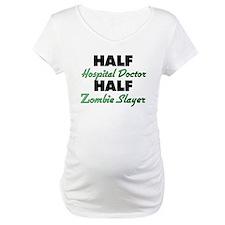 Half Hospital Doctor Half Zombie Slayer Shirt