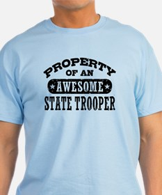 Property of an Awesome State Trooper T-Shirt
