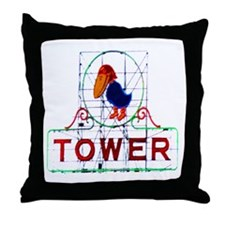 The Jayhawk Throw Pillow