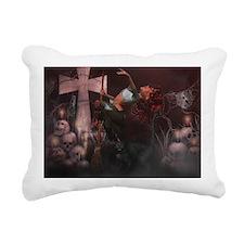 Little Witch 2 Rectangular Canvas Pillow
