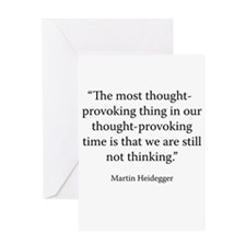 What is Called Thinking? Greeting Cards