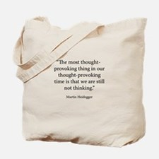 What is Called Thinking? Tote Bag