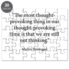 What is Called Thinking? Puzzle