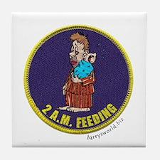 2 A.M. Feeding Tile Coaster