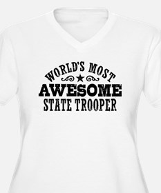 World's Most Awesome State Trooper T-Shirt