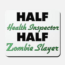 Half Health Inspector Half Zombie Slayer Mousepad