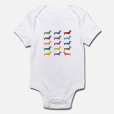 Dachshunds, Dachshunds, Dachs Infant Bodysuit