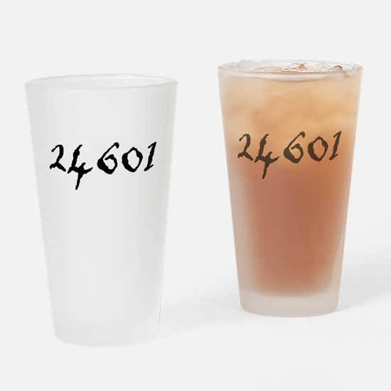 Prisoner Number Drinking Glass