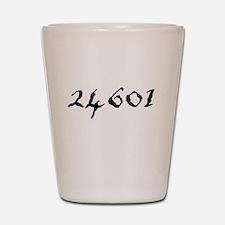 Prisoner Number Shot Glass