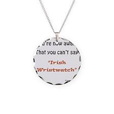 Irish Wristwatch Necklace
