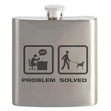 American Foxhound Flask
