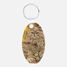 Fila Cat painting Keychains