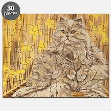 Fila Cat painting Puzzle