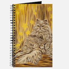 Fila Cat painting Journal