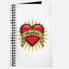 Jonathan Tattoo Heart Journal