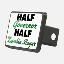 Half Governor Half Zombie Slayer Hitch Cover