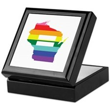 Wisconsin equality Keepsake Box
