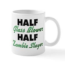 Half Glass Blower Half Zombie Slayer Mugs