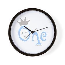 """Onederful """"One"""" (boy) Wall Clock"""