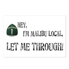 I'M MALIBU LOCAL Postcards (Package of 8)