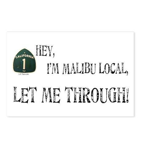 I'M MALIBU LOCAL Postcards (Package of 8)