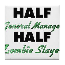 Half General Manager Half Zombie Slayer Tile Coast
