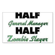 Half General Manager Half Zombie Slayer Decal