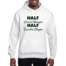 Half General Manager Half Zombie Slayer Hoodie