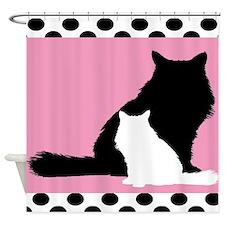 Persian Cats Duvet Shower Curtain