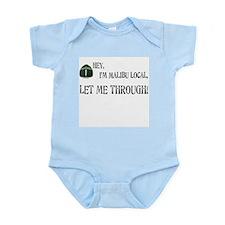 I'M MALIBU LOCAL Infant Bodysuit