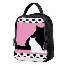 Persian Cats Duvet Neoprene Lunch Bag