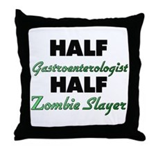 Half Gastroenterologist Half Zombie Slayer Throw P