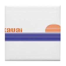 Cool Kauai Tile Coaster