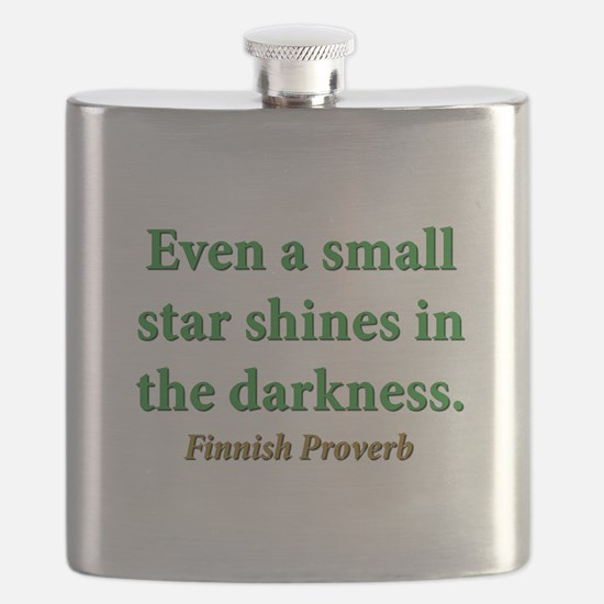 Even A Small Star Shines Flask