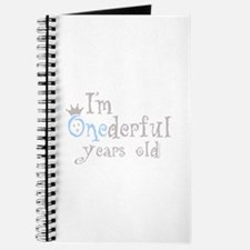 Onederful years old (boy) Journal