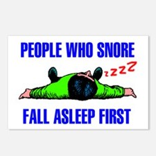 PEOPLE WHO SNORE Postcards (Package of 8)