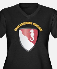 SSI - 36th Engineer Brigade with Text Women's Plus