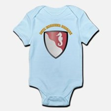 SSI - 36th Engineer Brigade with Text Infant Bodys