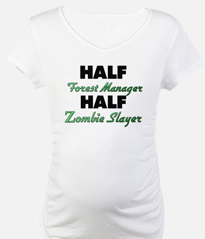 Half Forest Manager Half Zombie Slayer Shirt