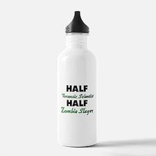 Half Forensic Scientist Half Zombie Slayer Water B