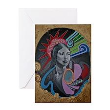 Te Ata Greeting Card