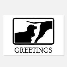 American Water Spaniel Postcards (Package of 8)