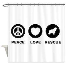 American Water Spaniel Shower Curtain